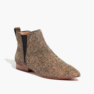 Madewell Nadine calf hair Chelsea boots
